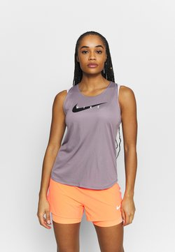 Nike Performance - RUN TANK - Top - purple smoke/reflective silver