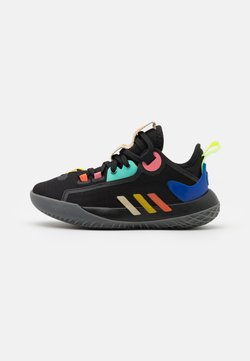 adidas Performance - HARDEN STEPBACK 2 UNISEX - Koripallokengät - core black/yellow/acid mint