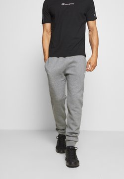Champion - LEGACY CUFF PANTS - Verryttelyhousut - mottled light grey