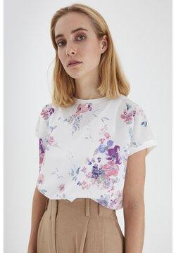 b.young - T-Shirt print - off white mix