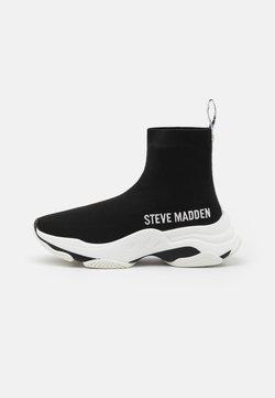 Steve Madden - MASTER - Höga sneakers - black