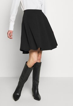 Anna Field - BASIC MINI A-LINE SKIRT - Minijupe - black