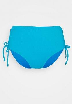 We Are We Wear - ANTONIA REVERSIBLE HIGHWAIST PANT - Bikiniunderdel - powder blue/sea blue