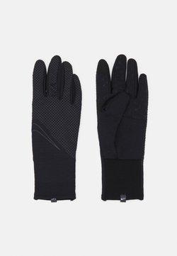 Nike Performance - WOMENS SPHERE RUNNING GLOVES - Fingerhandschuh - black/silver