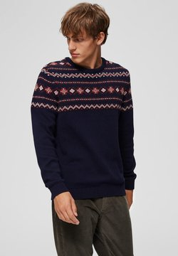 Selected Homme - Pullover - maritime blue