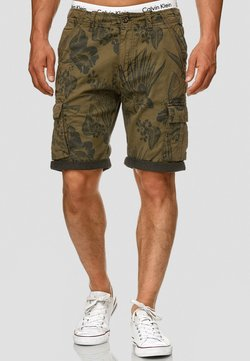 INDICODE JEANS - ALBERT - Shorts - army