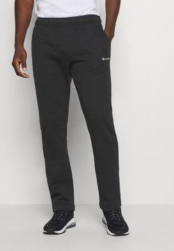 Champion - LEGACY STRAIGHT HEM PANTS - Jogginghose - black
