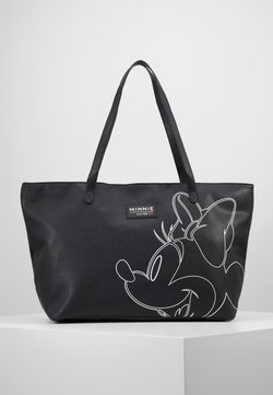 Kidzroom - MINNIE MOUSE FOREVER FAMOUS SHOPPER - Shopping bag - black