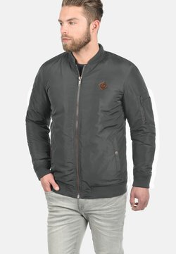 Solid - REGULAR FIT - Giubbotto Bomber - dark grey