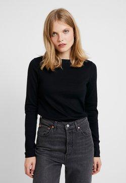 GAP - BOAT - Langarmshirt - true black