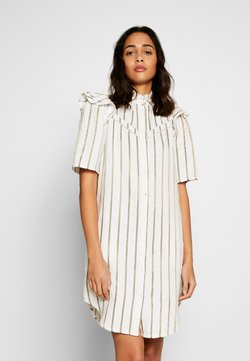 Scotch & Soda - STRIPED DRESS WITH LADDER TAPES - Blusenkleid - combo