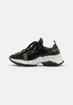 Steve Madden - MESCAL - Sneakers laag - olive/multicolor