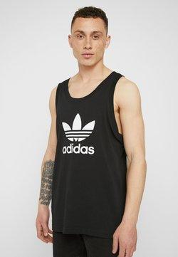 adidas Originals - TREFOIL TANK - Linne - black