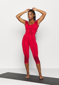 Free People - SOLID POINT BREAK ONESIE - Mono deportivo - dark red