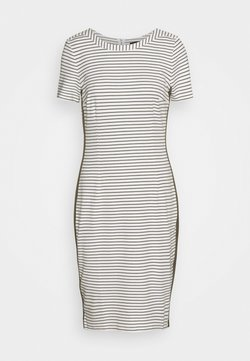 More & More - DRESS INTERLOCK - Etuikleid - offwhite