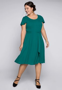 Sheego - Cocktailkleid/festliches Kleid - emerald