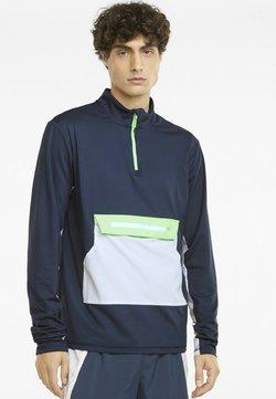 Puma - RUNNING - Sweatshirt - spellbound/green glare