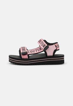Versace Jeans Couture - Korkeakorkoiset sandaalit - rose