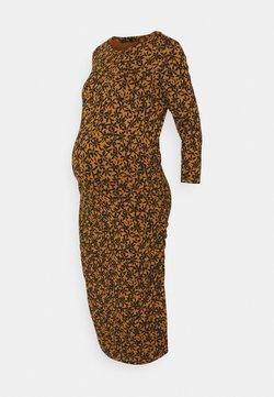 Supermom - DRESS FLOWER - Sukienka z dżerseju - chipmunk