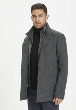 Matinique - MATINIQUE MAHARVEY SHORT - Blazer jacket - medium grey melange