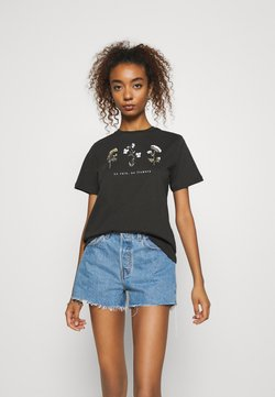 Even&Odd - T-shirts print - anthracite