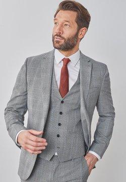 Next - SLIM FIT - Veste de costume - grey