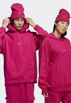 adidas Originals - IVY PARK CARGO HOODIE (ALL GENDER) - Huppari - bold pink