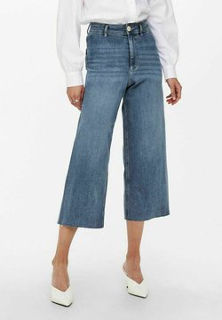 ONLY - FLARED JEANS - Jeans relaxed fit - medium blue denim