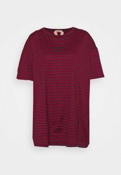 N°21 - STRIPED TEE - T-Shirt print - red