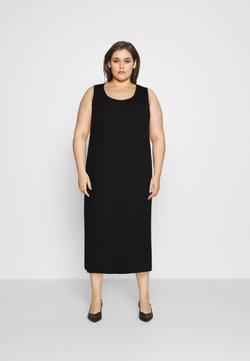 NU-IN - SLEEVELESS MIDI DRESS - Day dress - black