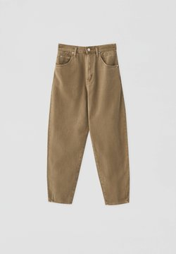 PULL&BEAR - Straight leg jeans - light brown