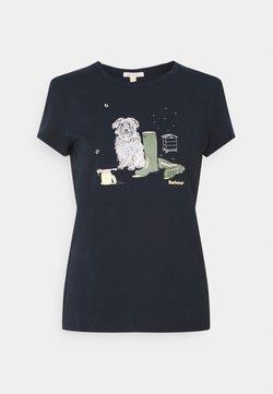 Barbour - ROWEN TEE - T-Shirt print - navy