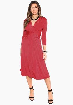 KRISP - 3/4 SLEEVE - Cocktailkleid/festliches Kleid - red