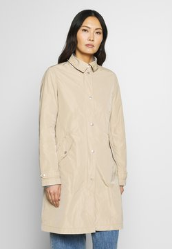 Marc O'Polo - COAT TURN DOWN COLLAR DETACHABLE HOOD PRESSBUTTONS FRONT - Parka - swedish pine
