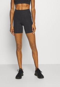 Cotton On Body - SCALLOP HEM BIKE - Trikoot - black