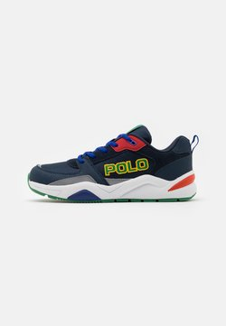 Polo Ralph Lauren - CHANING - Sneakers laag - navy/green/red/white