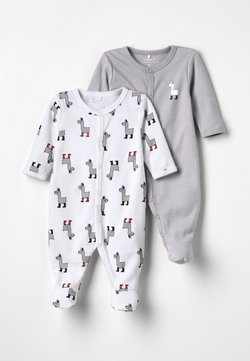Name it - NBNNIGHTSUIT 2PACK - Pyjama - bright white