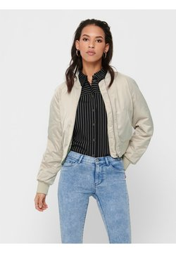 ONLY - ONLMALCOM - Bomber Jacket - frosted almond