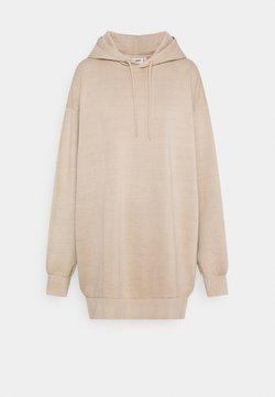 Weekday - LIZETTE HOODIE DRESS - Kjole - beige