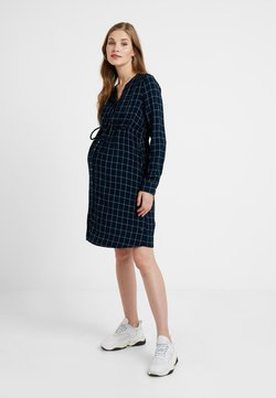 Esprit Maternity - DRESS CHECK - Korte jurk - night blue