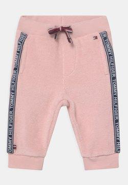 Tommy Hilfiger - BABY TAPE UNISEX - Pantalones - pink