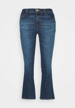 J Brand - SELENA MID RISE CROP BOOTCUT - Jeans Bootcut - arcade