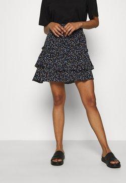 JUST FEMALE - Mini skirts  - black