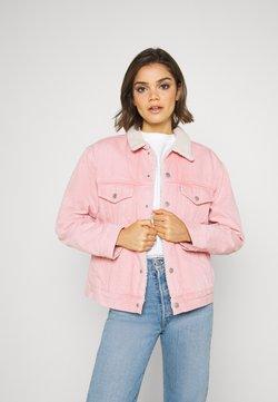 Levi's® - TRUCKER - Veste en jean - chalky blush