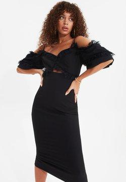Trendyol - TRENDYOL TPRSS20EL0015 - Cocktailkleid/festliches Kleid - black