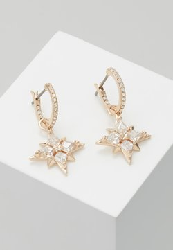 Swarovski - SYMBOL MINI HOOP STAR  - Earrings - gold-coloured