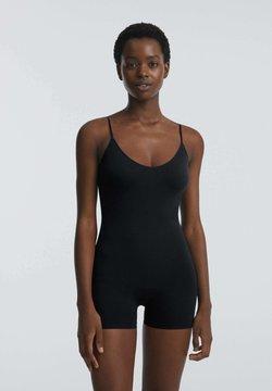 OYSHO - SOFT TOUCH - Jumpsuit - black
