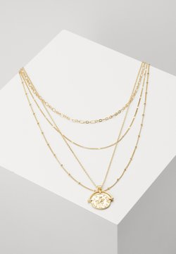 Pieces - PCMISSIMA COMBI NECKLACE - Necklace - gold-coloured