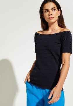 comma - T-Shirt print - navy