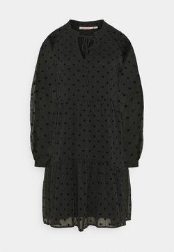 Esqualo - DRESS DOTS - Vapaa-ajan mekko - black